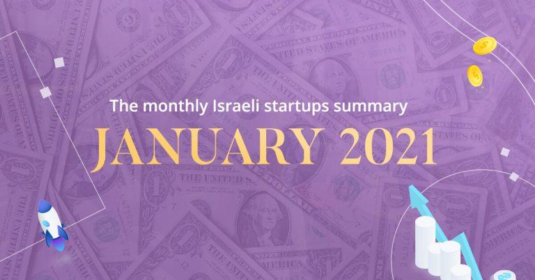 Israeli startups January
