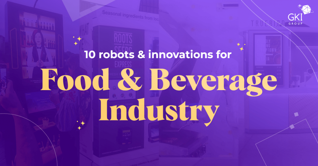 robots for the food and beverage industry